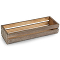 BSCI &FSC handmade cheap rustic wooden food presentation crates