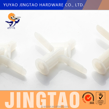 Nylon butterfly toggle anchor wall plug expansion M10X47mm plastic plugs for screw holes