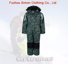 Boys Winter Padded Ski Overall for customizing