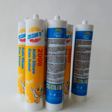 Linqu factory gp RTV acetic acid silicone sealant