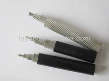 0.6/1kv rated voltage PVC insulated AAC aluminum alloy core conductor aerial cables overhead