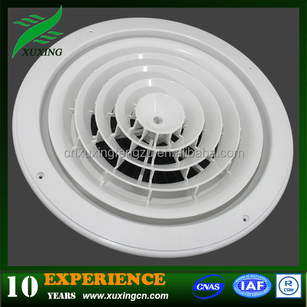 aluminum round air diffuser plastic roof vents for ventilation system