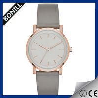 Ladies fancy watch vogue watch custom leather your brand watch simple leather watch