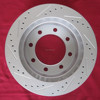 Geomet Brake Rotor AIMCO 31029 with Cross Drilled and Slotted Design