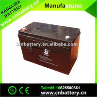 Deep cycle lead acid rechargeable vrla battery 12v 100ah , solar energy system