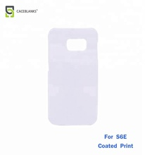 sublimation 3d blank phone covers case for samsung s6, shell for sublimation