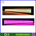 Aluminum profile Sound control DMX 252*10mm RGB multi color led light bar