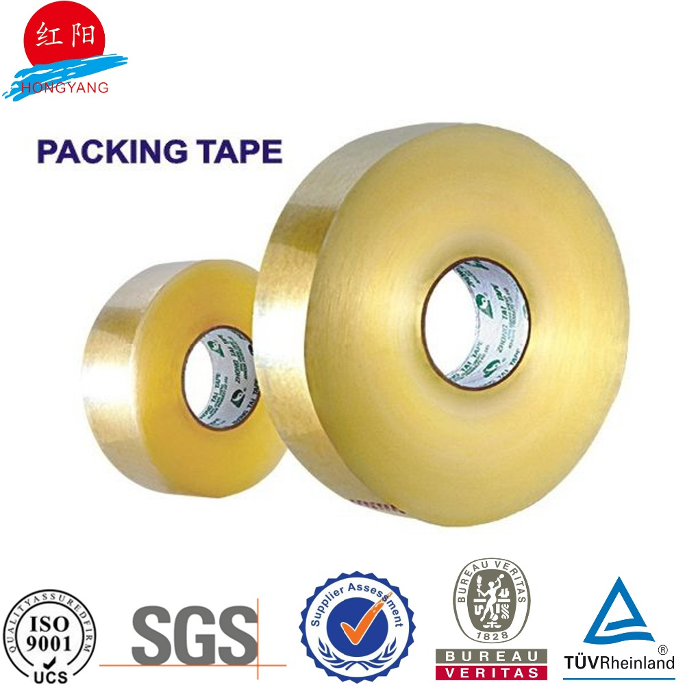 Acrylic Adhesive and Single Sided Adhesive bopp packing tape clear and logo printed