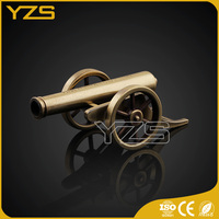 factory custom Promotion gift decoration use metal craft military Cannon