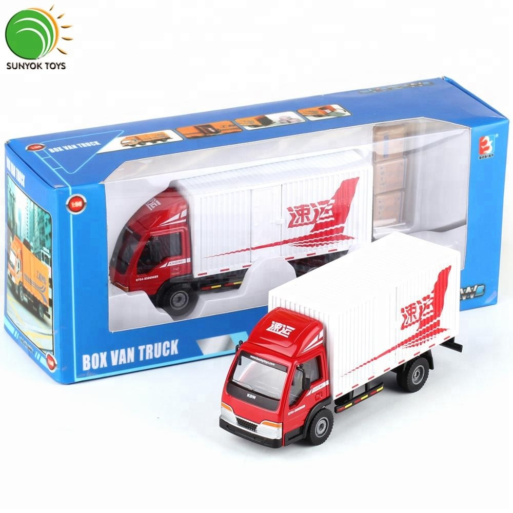 1//64 ISUZU Alloy casting model Iran transport delivery truck model 3 spraying