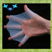 MA-400 2013 Fashion Flexible Finger Silicone Swimming Gloves
