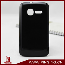 Glossy jelly tpu case for Alcatel one touch t pop 4010a