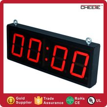 double sided indoor RF wireless digital display sign number led clock led clock number display