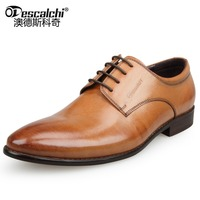 Guangzhou Factory Fashion Pointed Formal Men's Dress Shoes leather shoes for men