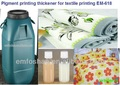 high capacity textile thickener flat and rotary screen chemical printing paste pigment