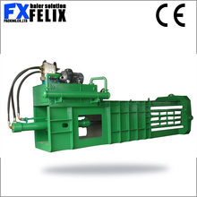 scrap waste press machine plastic packaging machines wheat straw hay baler