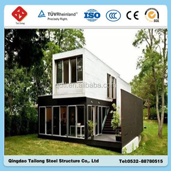 Solar power container home kits house