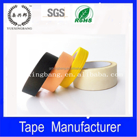 Colored masking tape for spray painting