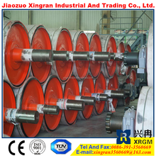 pulley head and tail equipment large pulley manufacturers idler pulley wheel