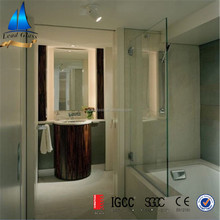 Shanghai Manufacture Hotsale 10mm Single Leaf Glass Door With Tempered Glass with IGCC certification