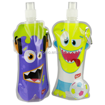 Custom Printing Folding PVC Water Bottle