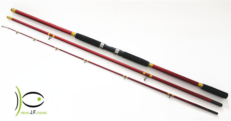 vara de pesca surf casting rod carbon material strong action surf rod