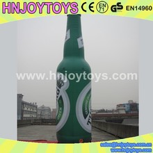 Advertising inflatable wine replica, inflatable replica water bottle, inflatable replica