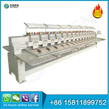 Industrial embroidery machine big area 15 20 21 24 28 42 head flat computerized embroidery machine sale philippines