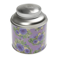 Round shape tin can / tea tin / tea tin box