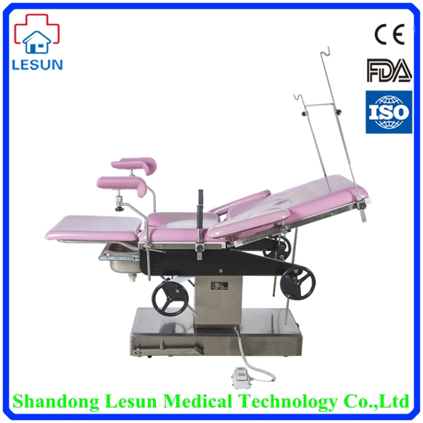 LESUN Medical Hospital Electric Multi-purpose Gynecologic Examination Operating Table,LSO-3004