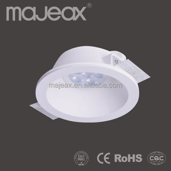 Purely Handmade Gypsum Plaster led ceiling light fittings spotlight