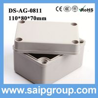 plastic cases of electronics plastic project box DS-AG-0811