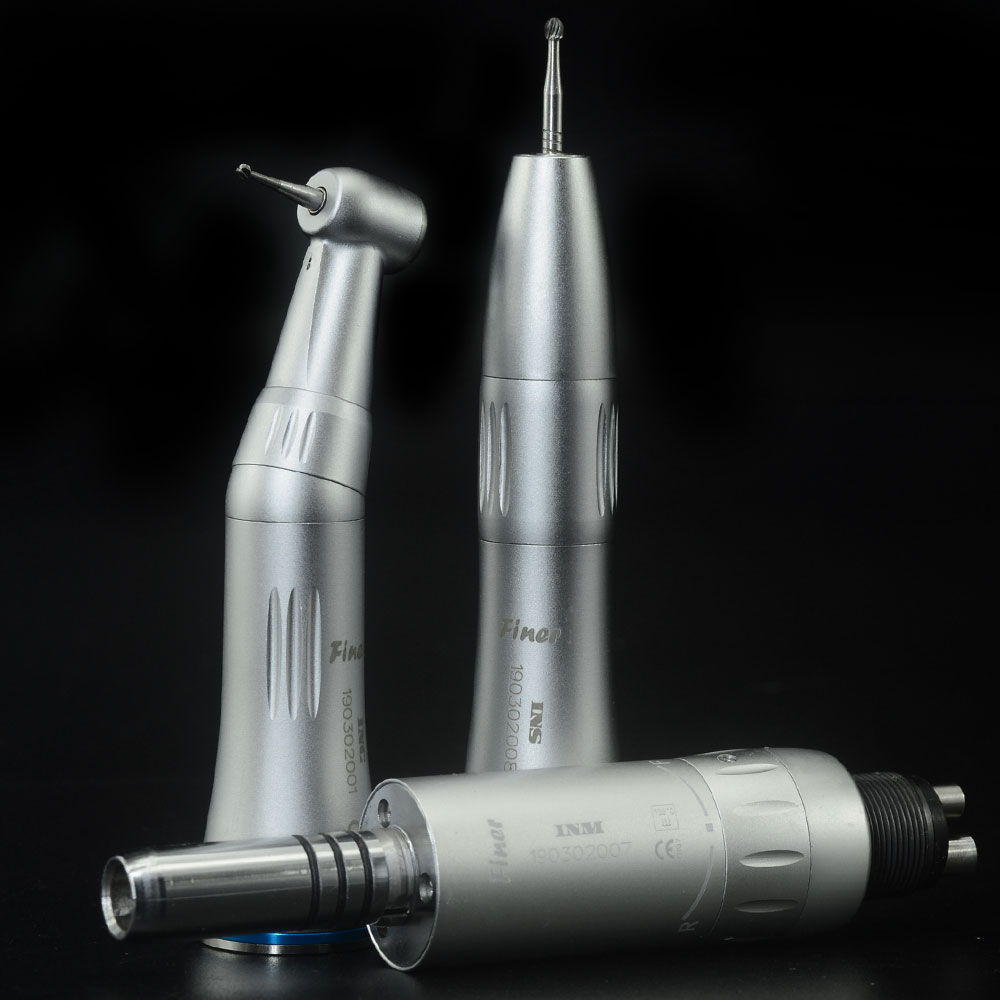 dental low speed handpiece set internal spray low speed handpiece contra angle straight handpiece air motor