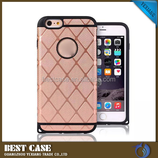 Wholesale phone cases pc tpu armor case for iphone 4 4S Hybrid cover