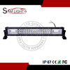 CE RoHS 22 Inch 3 Triple Row 12V 24 Volt Aluminum Housing Offroad Trucks 4X4 LED Driving Light Bar