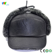 Russian winter thick warm earmuffs daddy hat Lei Feng hat middle-aged male old hat