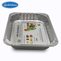 FDA aluminum foil containers 8011 disposable take-out container