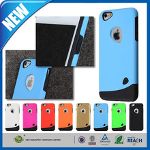 C&T New design and Colorful fashion hybrid rugged rubber combo matte case for iphone 6 plus