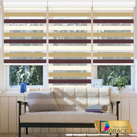 Fashionable zebra roller curtain/ Blinds manufacturer/fabric zebra blinds