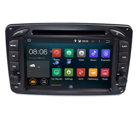 In Stock ANDROID 7.1 CAR DVD PLAYER For Mercedes Benz W209 W203 W168 ML <strong>W163</strong> W463 Viano W639 Vito Vaneo Wifi GPS BT Radio