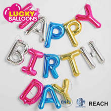Hot Sell black Gold Bunting banner Flag And Latex Foil Balloon 50th Happy Birthday Balloon Banner Party Decoration set