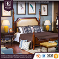 Luxury American Style bedroom furniture set Neo solid wood fashion customizable bedroom furniture set