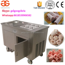 Stainless Steel Thailand Stir Fry Ice Cream Rolled machine