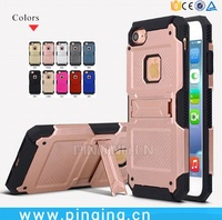 Alibaba Express Wholesale Rugged Impact PC TPU Mobile Phone Case For iPhone 6 S Apple i Phone 7