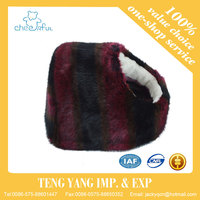 New design with super soft plush fur fabric warm pet bed