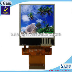 "128x128 dots color 1.44"" lcd display without touch screen"
