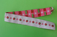 provide colorful woven ribbon for the children clothing