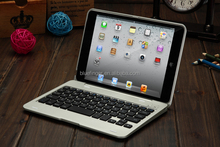 High Quality Bluetooth Keyboard with Aluminum case for iPad Mini1/2/3