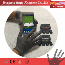 Cut resistant touch screen gloves with stainless yarn for handjob