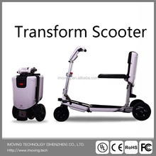 imoving x1 Intelligent mini three wheel folding electric scooter for male and female
